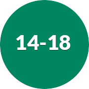 14 - 18
